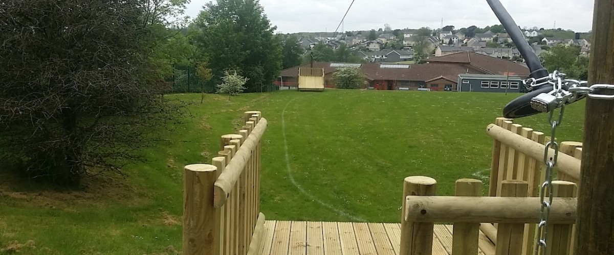 school zip wire
