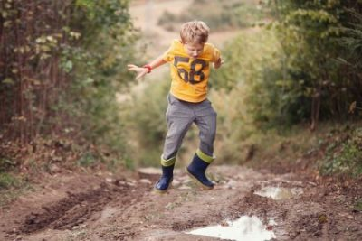 Keep your kids clean and out of the mud