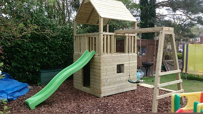 Swings, slides and climbs are great climbing frame variations for all builds