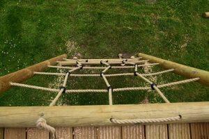 Cargo Net from balustrade height