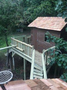 cedar shingle tree house