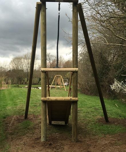 Garden Zip Wire Platforms Zipwire Kits For Kids And Garden Play