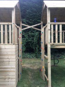 climbing wall customisation